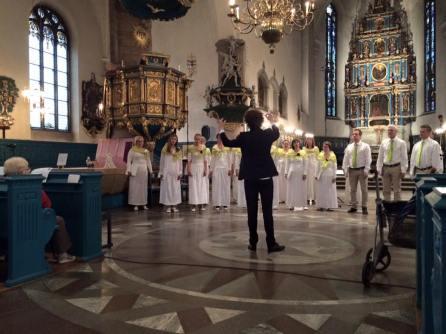 Falu Kammarkör, Kristine kyrka 17 juni