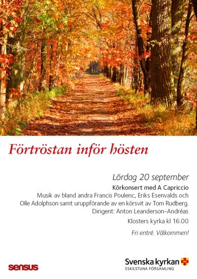 Lördagskonsert 20 september