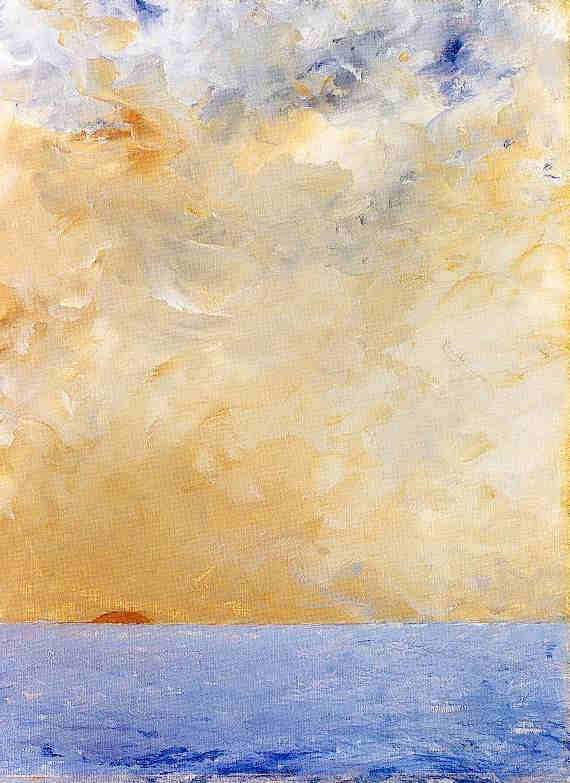 Solnedgång, August Strindberg (1903)