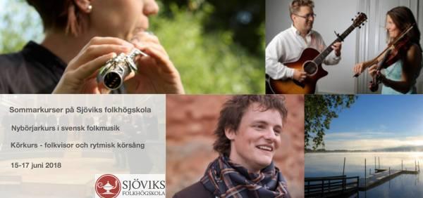 Sommarkurser på Sjöviks folkhögskola
