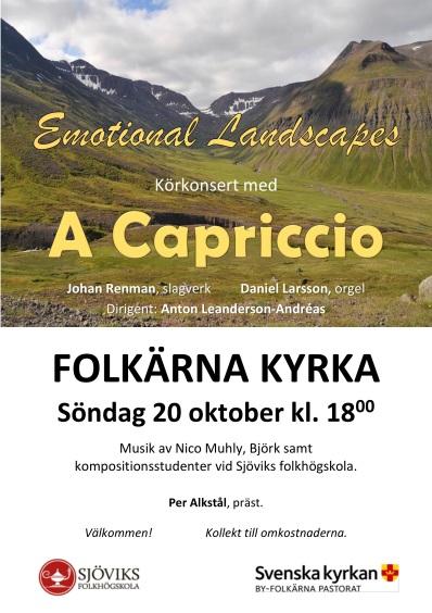 Konsert, A Capriccio 20/10
